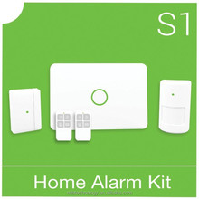 2015 High stability and high qualitygsm alarm systemwith fire alarm system