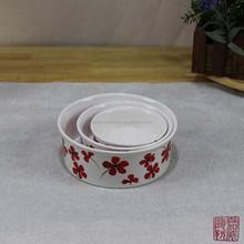 2015 ECO-Friendly ceramic pet bowl