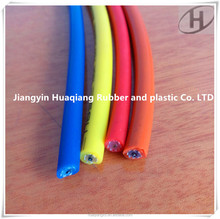 Silicone rubber high damping automotive ignition cable