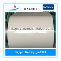 RAL9016 Color Prepainted Galvanized Steel Coil/PPGI Steel Coil/PPGI Coils From China