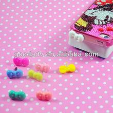 Lovely Mini any shape anti dust plug for phone dust plug smart phone accessory