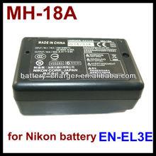 Camera Battery Charger for Nikon Mh18 En El3 El3e El3a Enel3