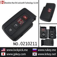 2015 hot sale original auto car 3 button smart remote key cover 0210211