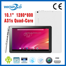 Allwinner A31S 10 inch quad-core Android 4.4 tablet 10 point cacitive ips touch screen
