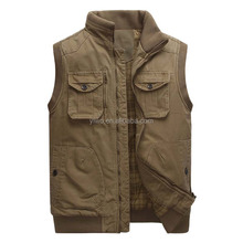 Fashion spring/autumn style traditional outer wear cotton waistcoat