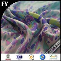 Custom high quality digital printed tencel cotton blend fabric