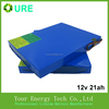 Lithium battery (LiFePO4) 12V 21Ah solar battery with high quality