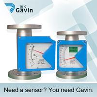 liquid gas steam metal tube rotameter