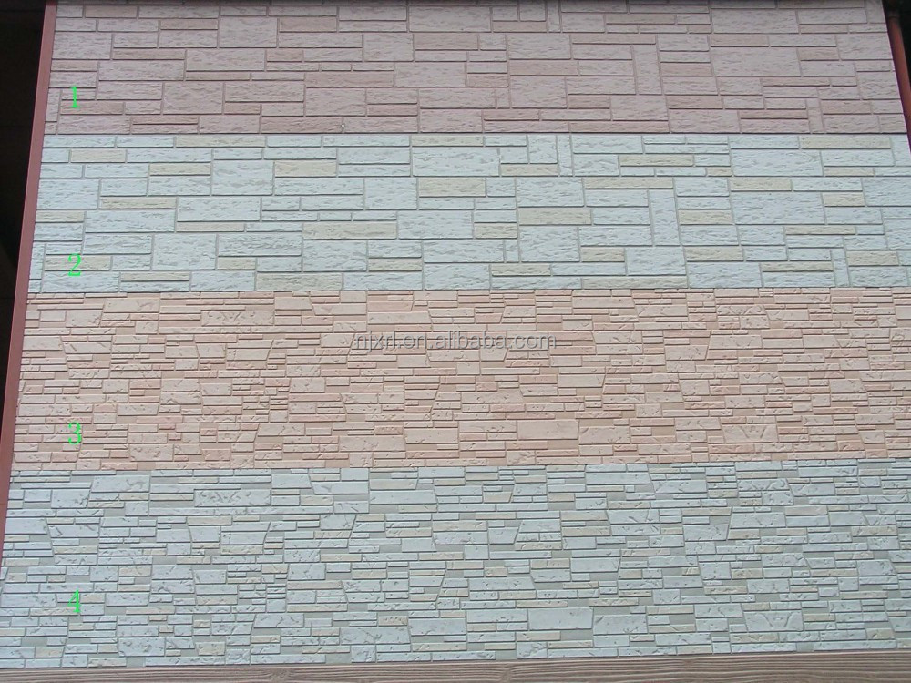 2015 new wall cladding materials facade panel siding green wall panel for Sustainable exterior cladding materials