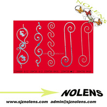 Fence/Railing/Staircase's Wrought Iron Balusters/Scrolls/Pickets/Panesl/Cast Steel/Iron/Stamping Ornaments from Branded Factory