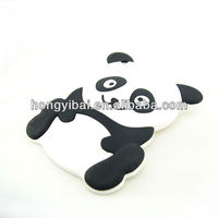 fashion and factory direct sell cute panda silicone case for mini ipad