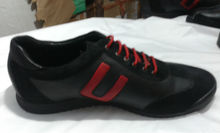 Branded leather formal casual sports shoes stock lot