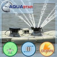 Innovative mobile 2HP fish pond air diffuser aeration machine
