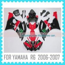 For YAMAHA R6 2006-2007 Fairing Body Kit Quality ABS motorcycle Fairing
