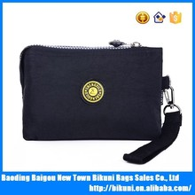 Suitable for ladies multi-function colorful washer wrinkle fabric new fashion women purse
