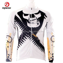 2015 new product red bicycle long sleeve cycling jersey or bike uniforms