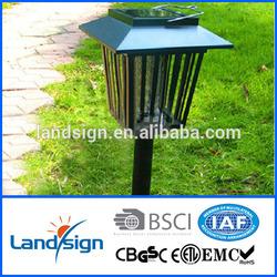 Hot sale Garden LED lighting fry trap+energy save solar lamp ,solar mosquito lamp