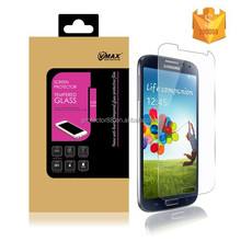 In stock ! 9H 2.5D ultra thin anti-shock mobile phone tempered glass screen protector for Samsung galaxy s4 I9500