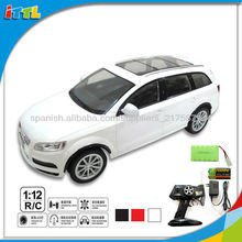 A405837 1:12 rc q7 coche del rc del juguete real de coches de juguete