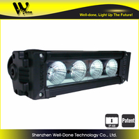 Be your warrior on the road ! offroad led light bar WD-4V10