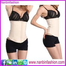 wholesale nude 5A natural latex sport waist shaper corset
