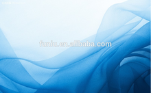 Tela de poliéster de corte de puntos de arruga de gasa / punto de corte de gasa Yoryu