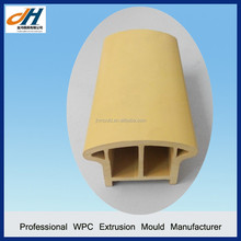 Wood Plastic Landscape Handrail and Railing WPC Extrusion Molds