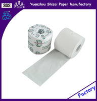 Toilet tissue from factory