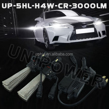 led auto lamp h4, all in one design, Plug-and-play auto led lamp h4, 20W 3000lm,factory direct supply