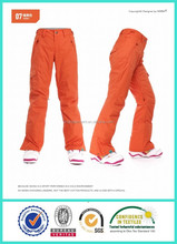 Inverno mulheres desporto ao ar livre calças impermeáveis calças