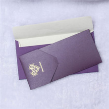 In stock five star shiny lucky greeting card