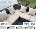De lujo de la rota sofás muebles de exterior directo fabricante de la fábrica venta al por mayor