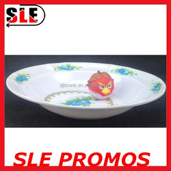 FDA High Quality Melamine Plate With Design,best selling disposable round plastic plate,bulk disposable round plastic plate