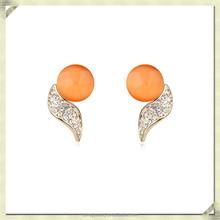 2015 fashion traditional pearl earring big fake pearl earrings fashion fashion hanging pearl earrings (SZE-086)