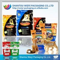 Large quantity packing pet food bag wholesale