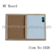 Combination Cork Board and White Board , White cork board