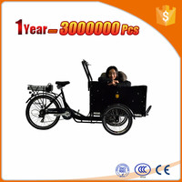 300W motor used cargo trikes for elderly