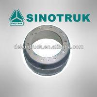 HOT!!! Heavy duty truck spare parts / HOWO Sinotruk rear brake drum