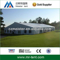 Fireproof white marquee party tent wedding canopy tent