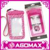 Hot selling universal mobile phone pvc waterproof bag for swimming