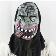 High quality Halloween Masks Latex Rubber Animal head chimpanzee Mask