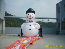 17'H inflatable PVC snowman