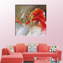 Hot item and high quality 3d sexy girl photo spanish dancer oil painting