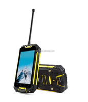 Snopow M9 IP68 waterproof 4.5 inches quad core with NFC walkie talkie 4700mah battery low cost touch screen mobile phone