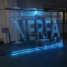 new inovative 2015 Led restaurant curtain fiber optic curtain for restarants