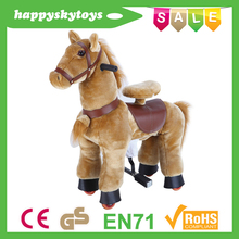 Funny ride toys!!!Hot sale horse dolls,baby doll rocking horse toy,wooden rocking horse toy