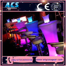 ACS led furniture led table, , led light up outdoor furniture