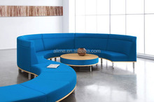 Alime modern circular hotel lobby sofa booth seating
