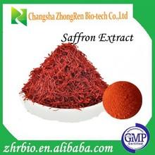 GMP Certification Pure natural Saffron Powder Extract 20:1
