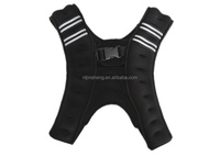 Neoprene Weight Vest with Reflective Strap for fitness